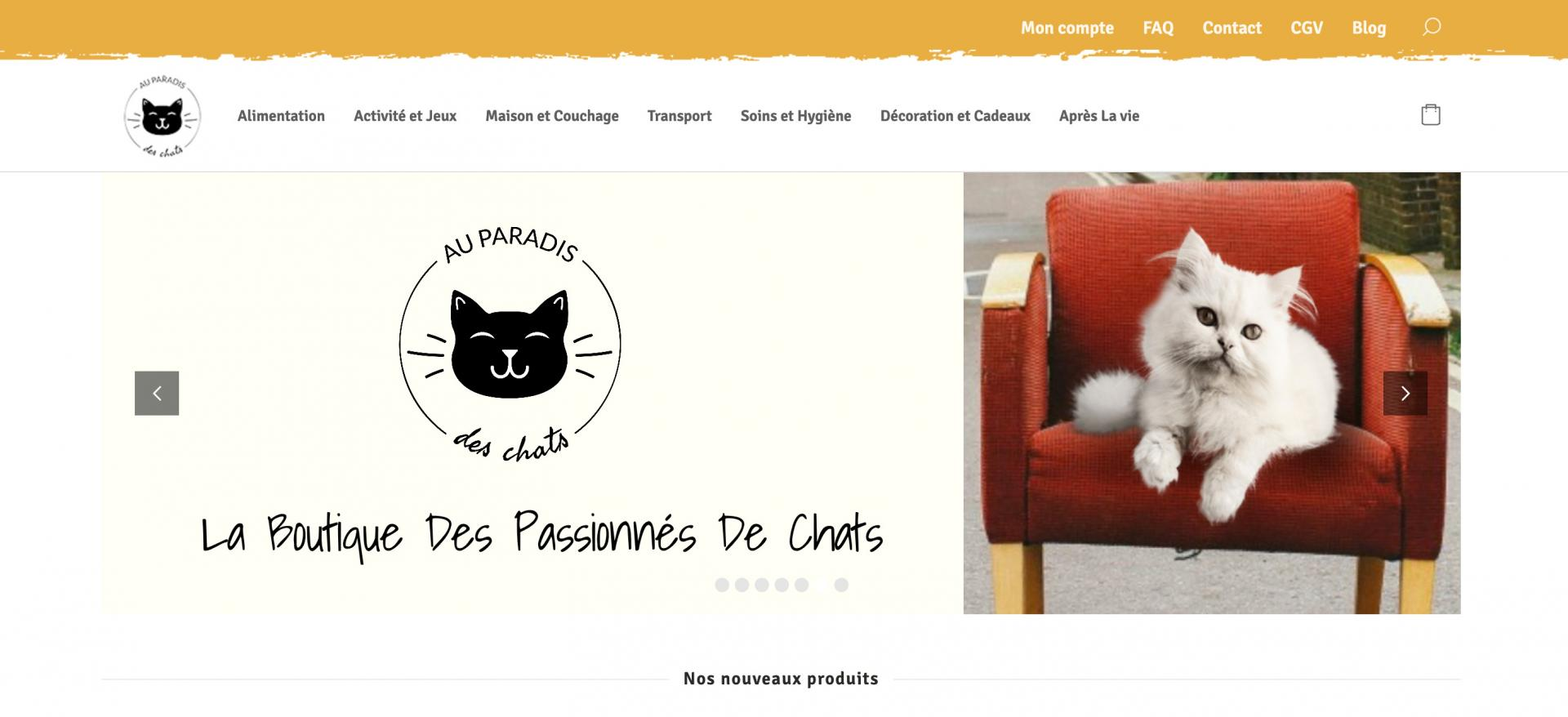 Screenshot 2020 04 11 au paradis des chats 1